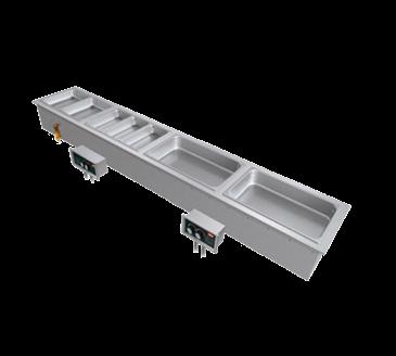 Hatco HWBI-S2D Built-In Slim Heated Well