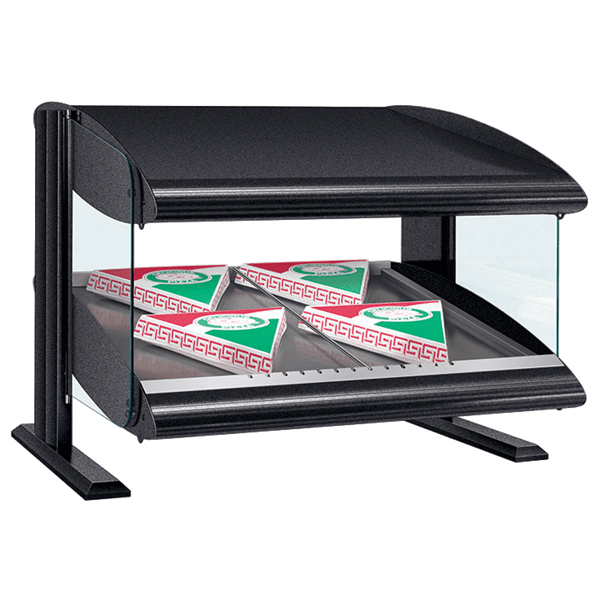 Hatco HXMS-60 Slant Heated Merchandiser with Xenon Lighting Warmer