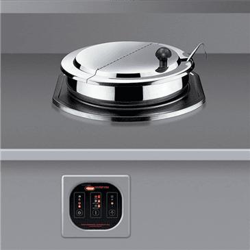 Hatco RHW-1B-120-QS (QUICK SHIP MODEL) Round Food Warmer/Cooker