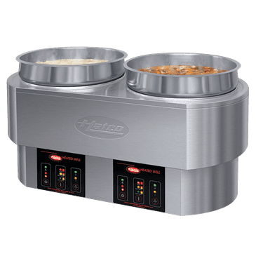 Hatco RHW-2-240-QS (QUICK SHIP MODEL) Round Food Warmer/Cooker