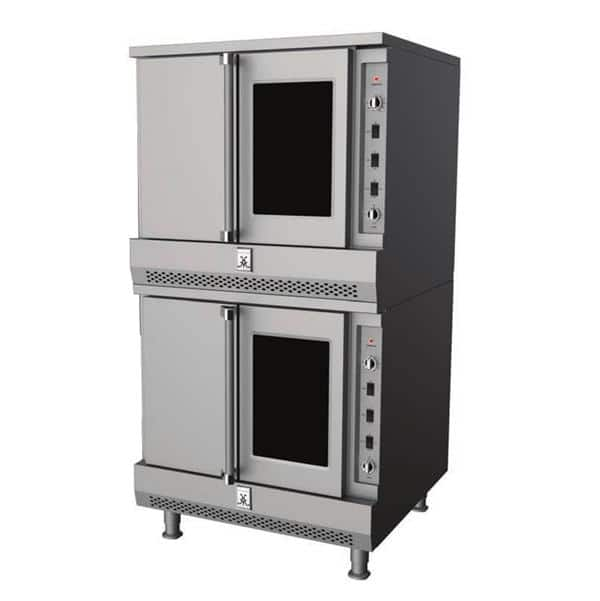 Hestan HUCOD2 Double Deck Gas Convection Oven with Manual Contols, 120 Volts
