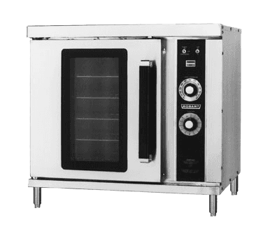 Hobart HGC202-PROPANE Half-Size Convection Oven