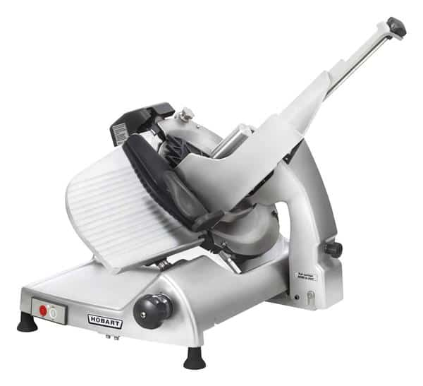 Hobart HS8-1 Food Slicer, Electric, Countertop with Gravity Feed - 120 Volts, 1/2 HP