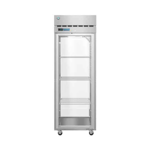 Hoshizaki Hoshizaki PT1A-FG-FG 27.50'' 24.2 cu. ft. 1 Section Glass Door Stainless Steel Pass-Thru Refrigerator