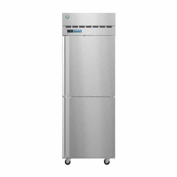 Hoshizaki Hoshizaki PT1A-HS-HS 27.50'' 24.2 cu. ft. 1 Section Solid Half Door Stainless Steel Pass-Thru Refrigerator
