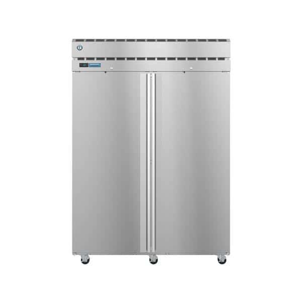 Hoshizaki Hoshizaki PT2A-FS-FS 55.00'' 52.5 cu. ft. 2 Section Solid Door Stainless Steel Pass-Thru Refrigerator