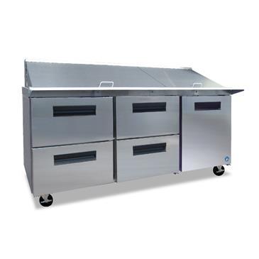 Hoshizaki CRMR72-30MD4 Commercial Series Mega Top Refrigerator