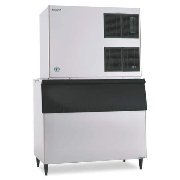 """Hoshizaki KM-1900SRJ3 48"""" Crescent Cubes Ice Maker, Cube-Style - 1500-2000 lbs/24 Hr Ice Production, Air-Cooled, 208-230 Volts"""