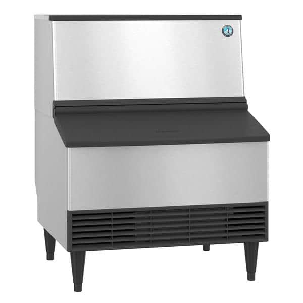 """Hoshizaki KM-301BWJ 30"""" Crescent Cubes Ice Maker With Bin, Cube-Style - 200-300 lbs/24 Hr Ice Production, Water-Cooled, 115 Volts"""