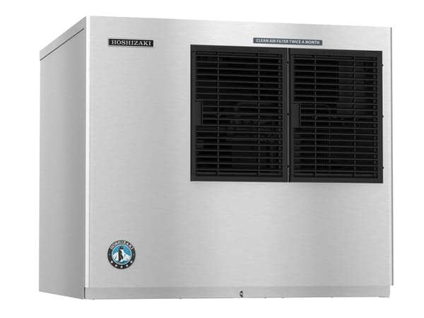 "Hoshizaki KML-325MAJ 30"" Crescent Cubes Ice Maker, Cube-Style - 300-400 lb/24 Hr Ice Production, Air-Cooled, 115 Volts"