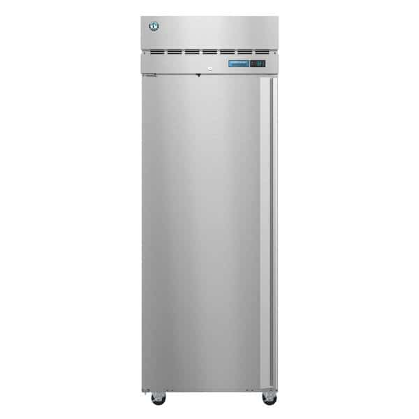 Hoshizaki R1A-FSL 27.5'' 23.1 cu. ft. Top Mounted 1 Section Solid Door All Stainless Steel Reach-In Refrigerator