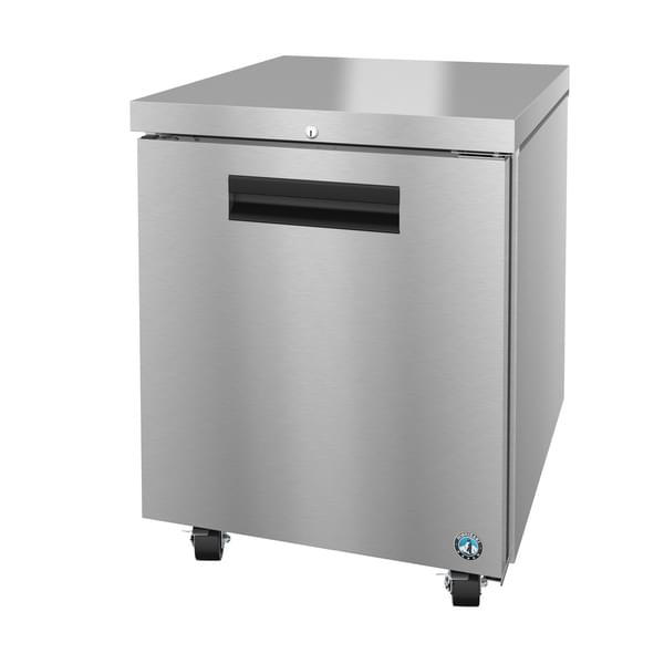 Hoshizaki Hoshizaki UF27A 27'' 1 Section Undercounter Freezer with 1 Right Hinged Solid Door and Front Breathing Compressor