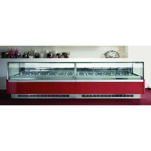 """Howard-McCray KT-G9-53-63-P12 KT24 Gelato/Ice Cream Display Case/Showcase  63.62""""W"""