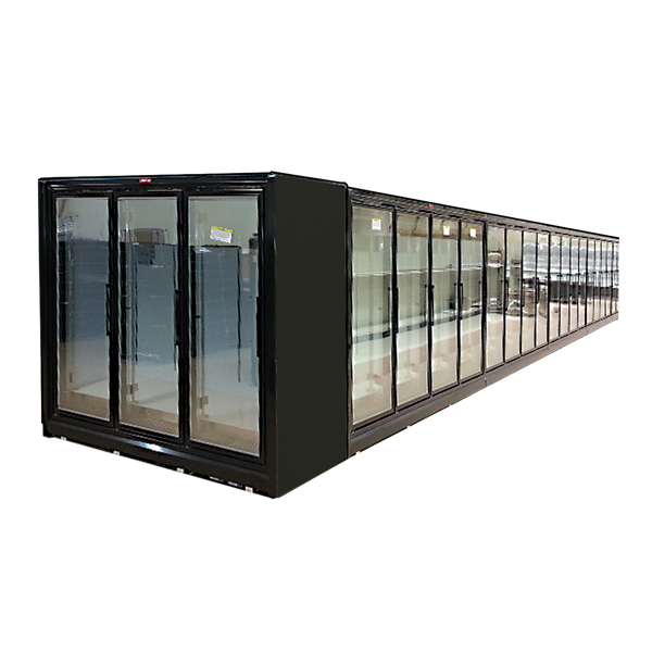 Howard-McCray Howard-McCray RIN5-24-LED-B 126.13'' Section Refrigerated Glass Door Merchandiser