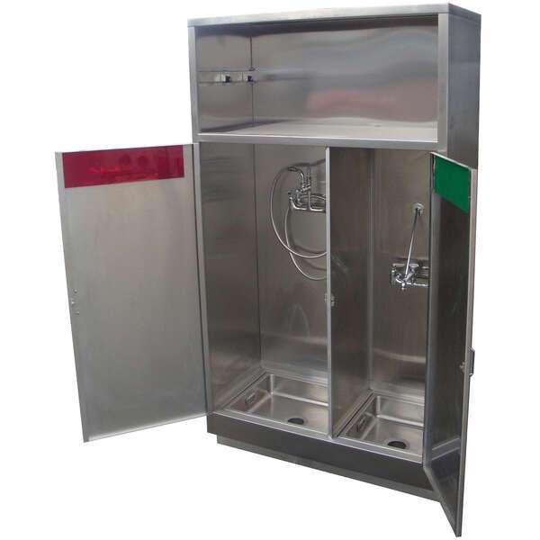 IMC/Teddy CMSC Combination Clean & Soiled Utility Cabinet