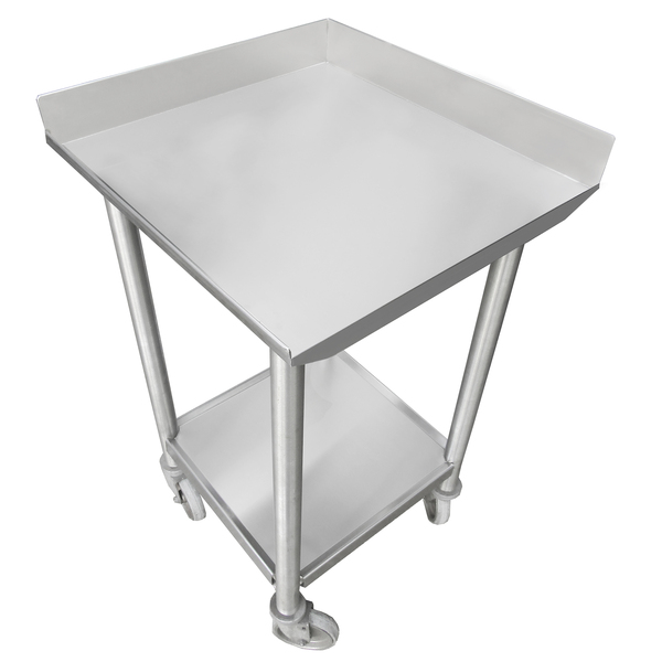 """IMC/Teddy WT1-3696 Work Table, 14 Gauge Stainless Steel Top with Stainless Steel Undershelf and 1 1/2"""" Backsplash - 96""""W x 36""""D"""