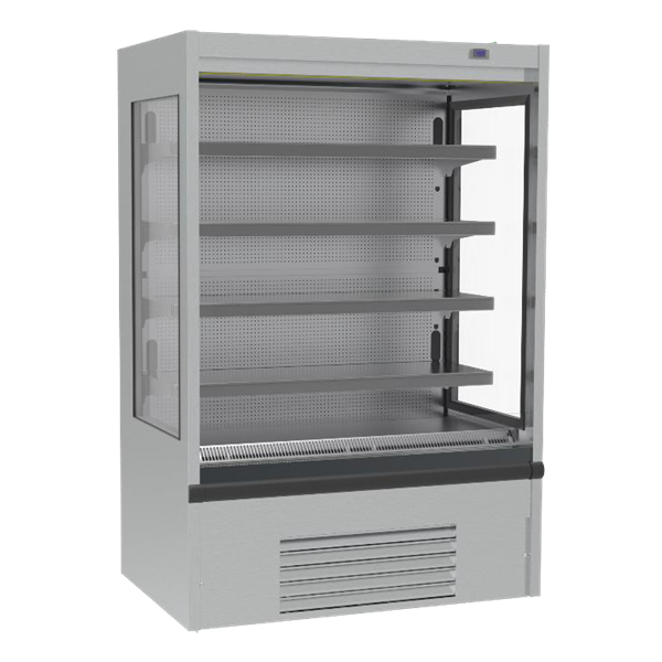 Infrico USA IAG-ML12CM1 52.34'' Air Curtain Open Display Merchandiser with