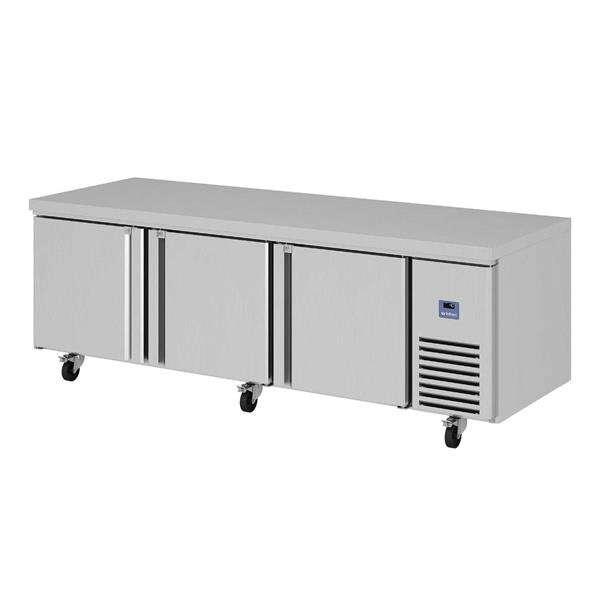 Infrico USA IUC-MR93 93.25'' 3 Door Worktop Refrigerator with Front Breathing Compressor - 27 cu. ft.