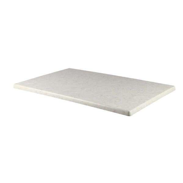 JMC Furniture 28X44 STONE Topalit Table Top