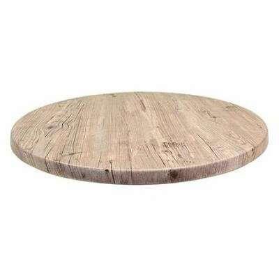 JMC Furniture 42 ROUND WASHINGTON PINE Topalit Table Top  outdoor use