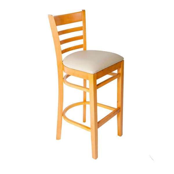 JMC Furniture ACABBO WOOD BARSTOOL CHERRY Acabbo Barstool
