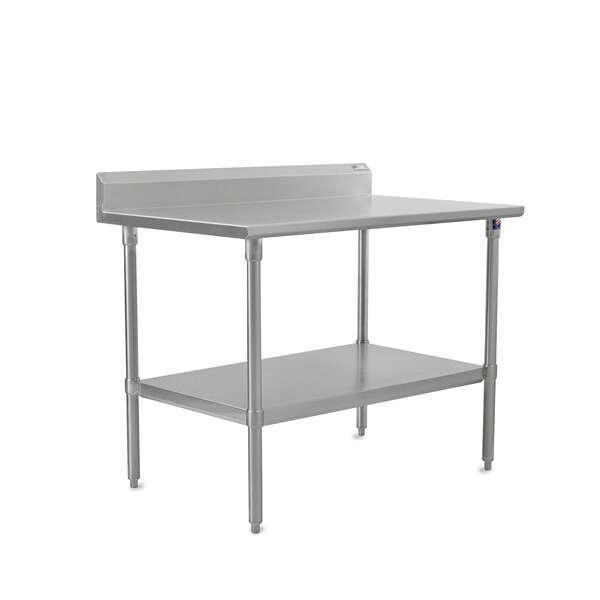 John Boos ST6R5-2484GSK-X Work Table