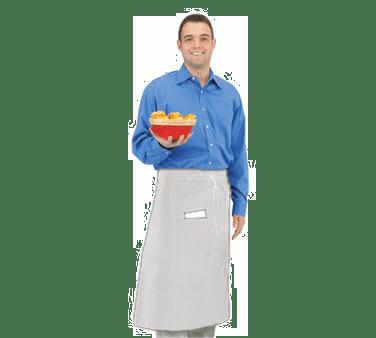 John Ritzenthaler Company 607BA2-WH Chef Revival® Bistro Apron