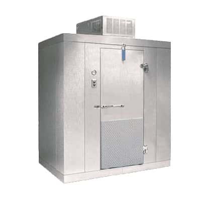 """Nor-Lake KL77612 6' x 12' x 7'-7"""" H Kold Locker Indoor Cooler with floor"""