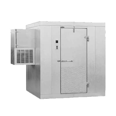 "Nor-Lake Nor-Lake KLB77610-W 6' x 10' x 7'-7"" H Kold Locker Indoor Cooler with floor"
