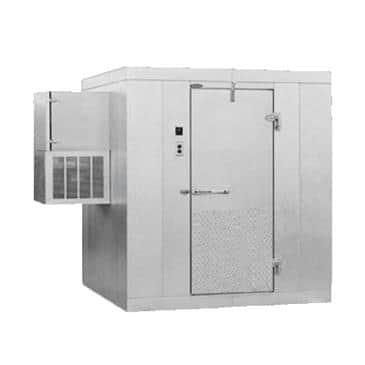"Nor-Lake KODF56-W 5' x 6' x 6'-7"" H Kold Locker Outdoor Freezer with floor"