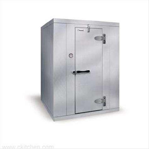 "Kolpak Kolpak KF7-0608-CR  Kold-Front Walk-In Cooler 7'-6.25"" H, 5'-10"" W, 7'-9"" L with Era floor"