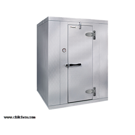 "Kolpak KF7-0612-CR Walk-In Cooler 7'-6.25"" H, 5'-10"" W, 11'-7"" L with Era floor"