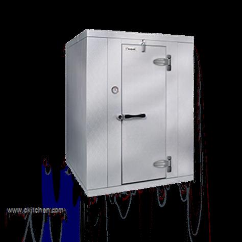 "Kolpak Kolpak KF7-0810-FR Walk-In Freezer 7'-6.25"" H, 7'-9"" W, 9'-8"" L with Era floor"
