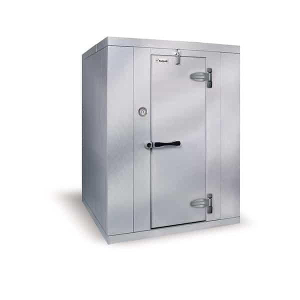 "Kolpak KF8-0610-FR Walk-In Freezer 8'-6.25"" H, 5'-10"" W, 9'-8"" L with Era floor"