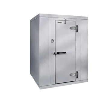 "Kolpak KF8-0610-FR Walk-In Freezer 8'-6.25"" H, 5'-10"" W, 9'-8"" L with Era floor"