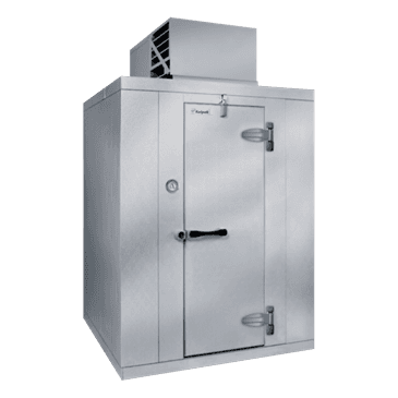 "Kolpak P6-0610-CT-OA Walk-In Cooler 6'-6.25"" H, 5'-10"" W, 9'-8"" L with Era floor"
