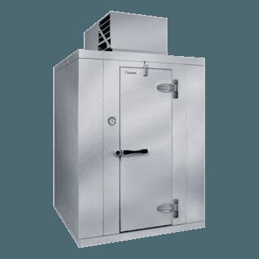 "Kolpak P6-1008-CT-OA Walk-In Cooler 6'-6.25"" H, 9'-8"" W, 7'-9"" L with Era floor"