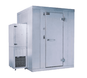 "Kolpak P7-0604-CS-OA Walk-In Cooler 7'-6.25"" H, 5'-10"" W, 3'-11"" L with Era floor"