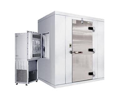 "Kolpak P7-0606-FS Walk-In Freezer 7'-6.25"" H, 5'-10"" W, 5'-10"" L with Era floor"
