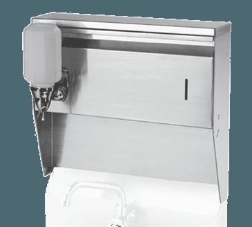 Krowne Metal Krowne Metal H-111 Towel & Soap Dispenser