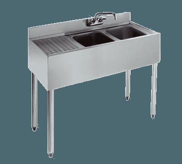 Krowne Metal Metal KR18-42R Royal 1800 Series Underbar Sink Unit