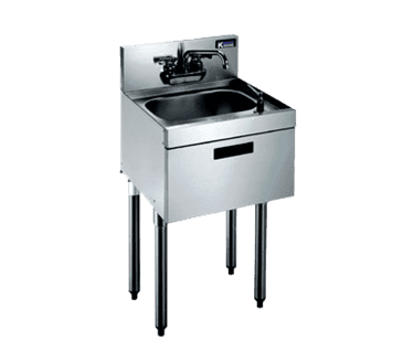 Krowne Metal Metal KR21-18DST Royal 2100 Series Underbar Hand Sink