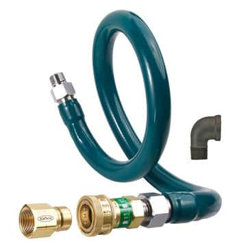 Krowne Metal Metal M10036K1 Royal Series Moveable Gas Connection Kit