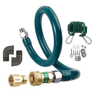 Krowne Metal Metal M10036K3 Royal Series Moveable Gas Connection Kit