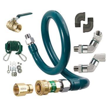 Krowne Metal Metal M10048K10 Royal Series Moveable Gas Connection Kit