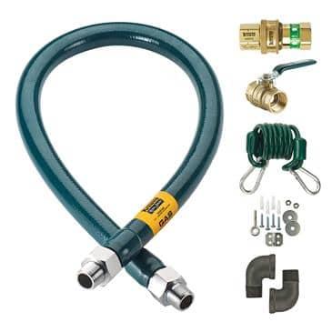 Krowne Metal Metal M12524K Royal Series Moveable Gas Connection Kit