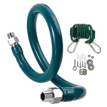 Krowne Metal Metal M12572K6 Royal Series Moveable Gas Connection Kit