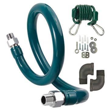 Krowne Metal Metal M12572K8 Royal Series Moveable Gas Connection Kit