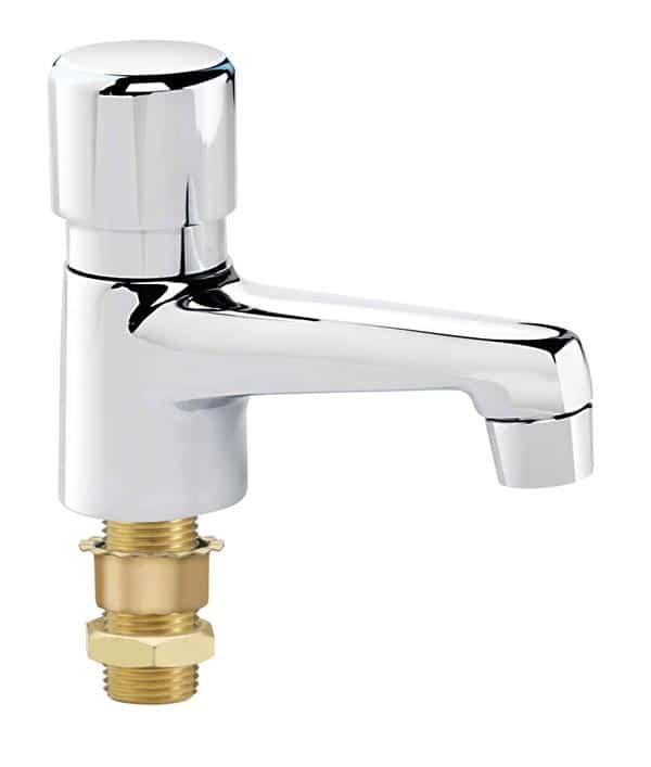 Krowne Metal Metal 14-544L Krowne Royal Series Single Self-Closing Metering Lavatory Faucet