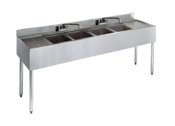 Krowne Metal 21-64C Standard 2100 Series Underbar Sink Unit